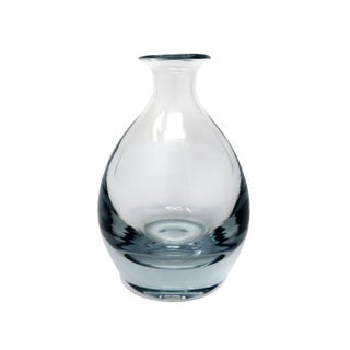 Swedish Glass Vase by Strombergshyttan For Sale