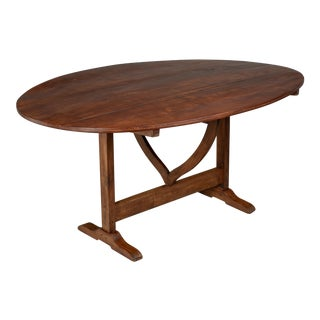 20th Century French Wine Tasting Table or Tilt-Top Table For Sale