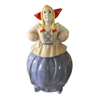Vintage Dutch Girl Cookie Jar