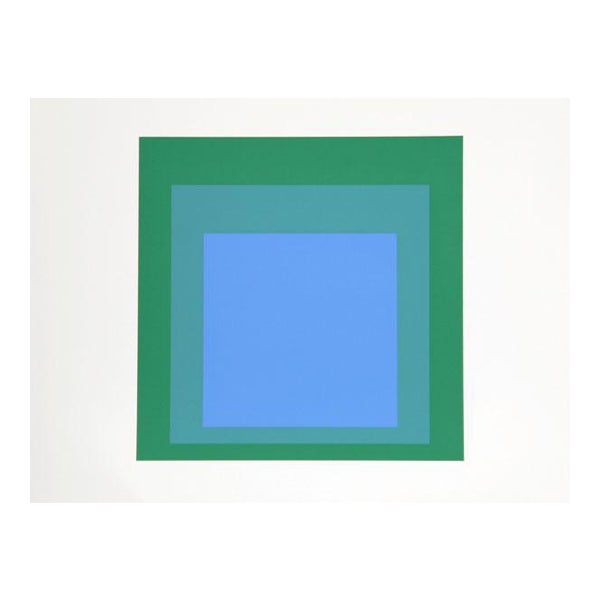 "Josef Albers ""Portfolio 2, Folder 33, Image 2"" Print For Sale"