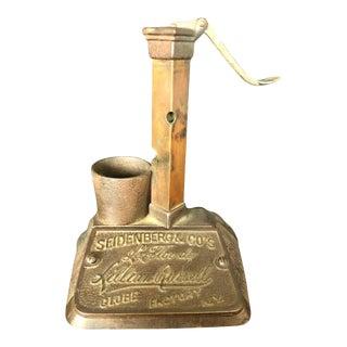 Seidenberg & Co's La Flor De Lillian Russell Cigar Cutter, Bronze Sculpture For Sale