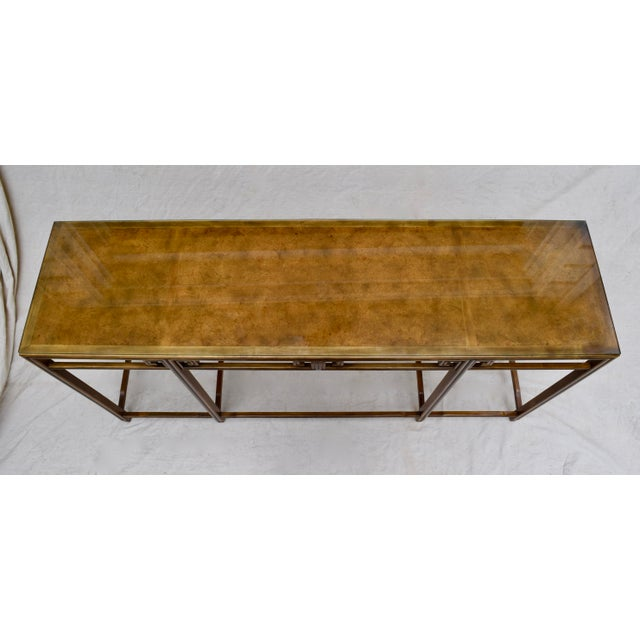 """Baker Burlwood Console Table, """"Far East"""" Collection"""" For Sale In Philadelphia - Image 6 of 13"""