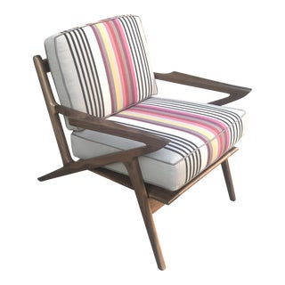 Mid-Century Modern Danish Z Chair