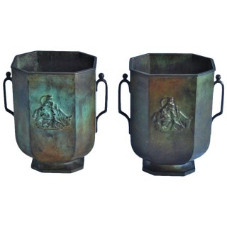 Bronze Vase Just Andersen /2 Available For Sale