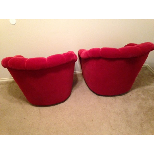 Brickel Ward Bennett Channel Back Chairs - A Pair - Image 4 of 5