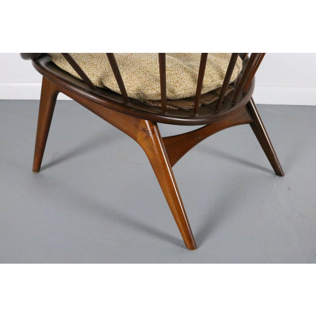 Ib Kofod-Larsen for Selig Hoop Chair - Peacock Chair Highly collectable and exceptionally well designed is the Hoop chair...