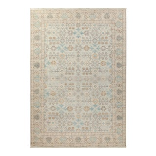 """One-of-a-Kind Traditional Hand-Knotted Area Rug 6' 2"""" x 9' 0"""" For Sale"""