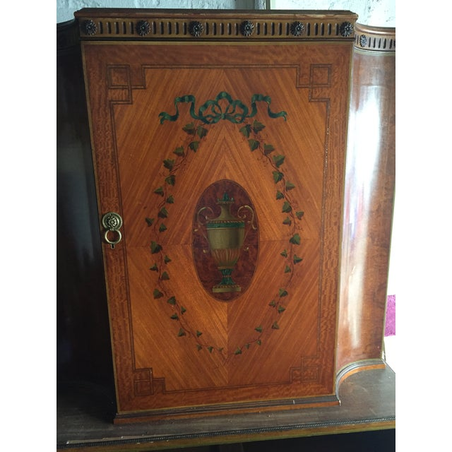 Antique Wood Cabinet - Image 4 of 7
