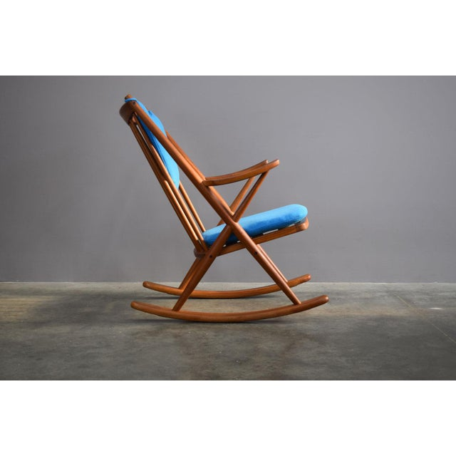 1960s Beautifully Restored Teak Danish Frank Reenskaug Rocker For Sale - Image 5 of 9