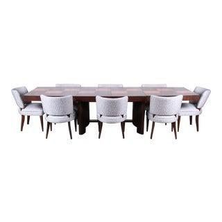 Gilbert Rohde for Herman Miller Art Deco Dining Set, Fully Restored For Sale