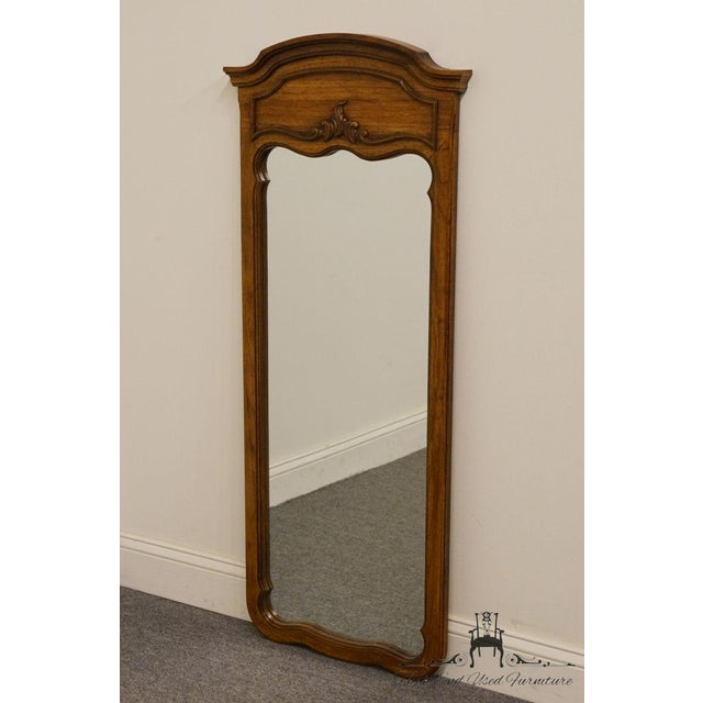 French Late 20th Century Vintage Thomasville Furniture Camille Collection Mirror For Sale - Image 3 of 11