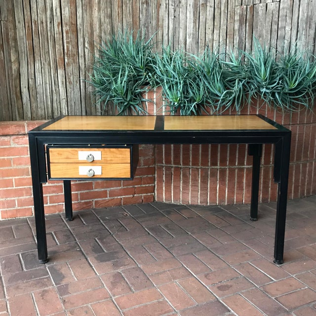 Mid-Century Modern Desk by Michael Taylor for Baker Furniture Company For Sale - Image 10 of 10
