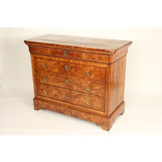 19th Century Louis Philippe Burl Ash Chest of Drawers Preview