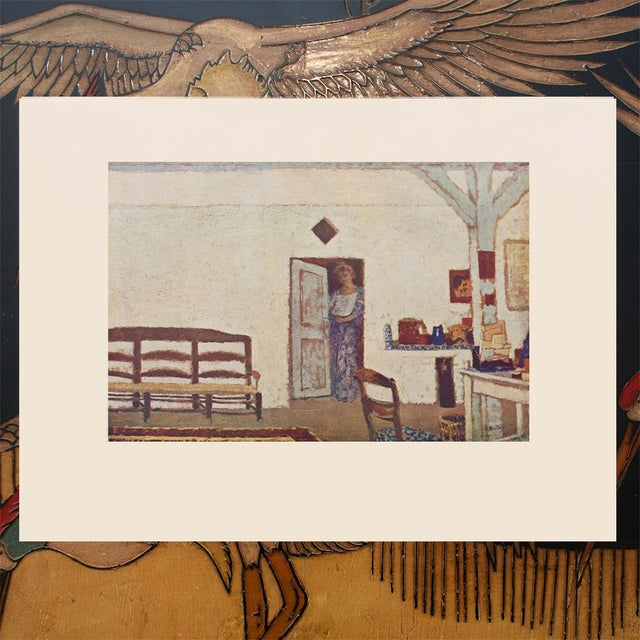 """Rare French """"Interior"""" by Jean-Édouard Vuillard, First Edition Parisian Lithograph For Sale - Image 4 of 10"""