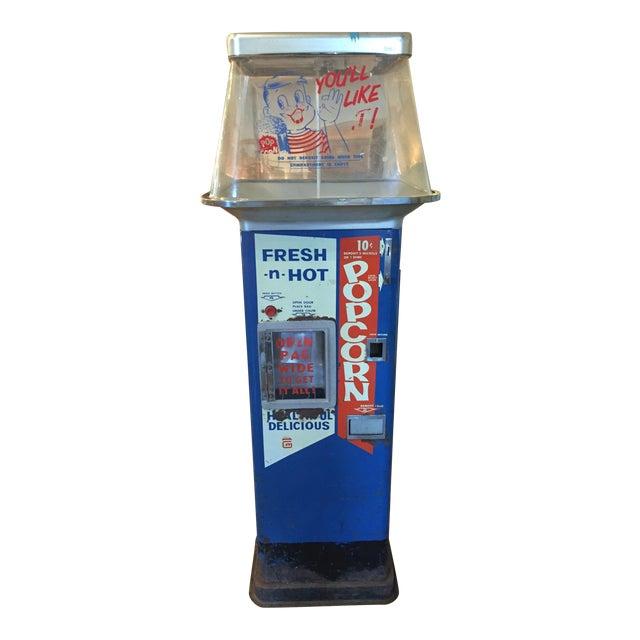 Vintage Functional Popcorn Dispenser For Sale