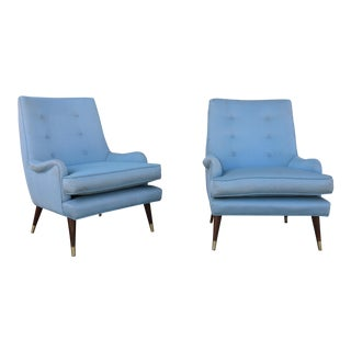 Vintage Pair of Mid Century Chairs