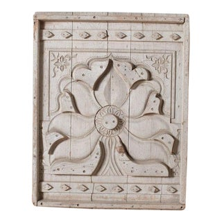 Antique Rustic Wood Panel For Sale