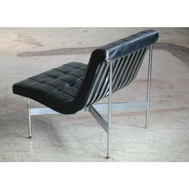 Mid-Century Modern Pair of Original 1950s New York Lounge Chairs by Katavolos, Littell and Kelley For Sale - Image 3 of 8