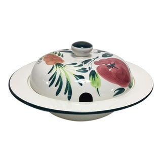 Pizzato Italian Hand Painted Soup Tureen For Sale