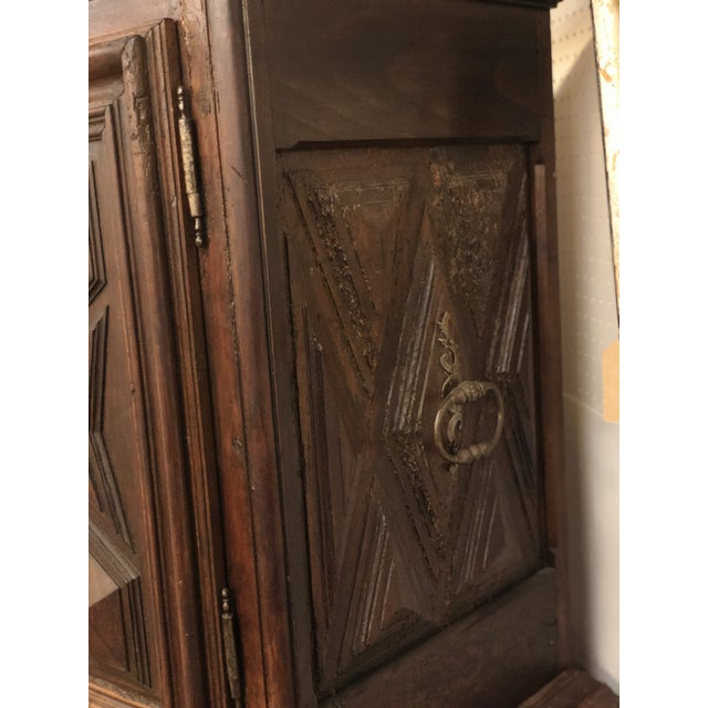 French Louis XIII Sacristy Cabinet For Sale - Image 5 of 7