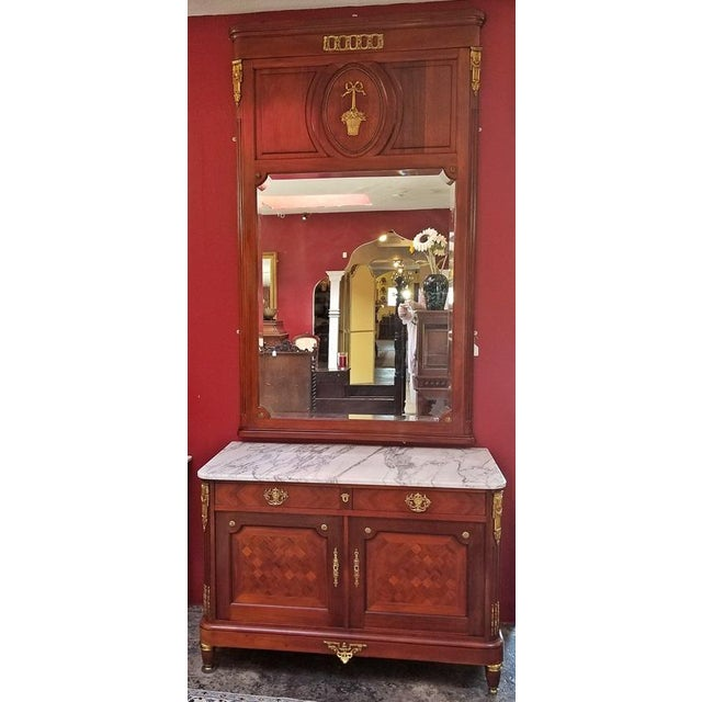 19c French Louis XVI Style Complete Bedroom Set For Sale - Image 11 of 12
