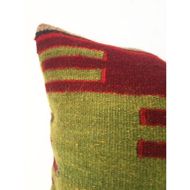 Vintage Kilim Square Pillow - Image 3 of 5