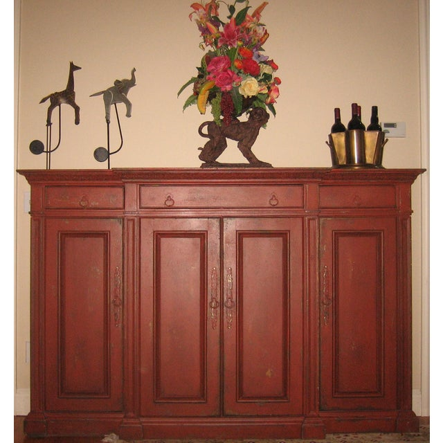 Contemporary Habersham Sideboard Dry Bar For Sale - Image 3 of 6