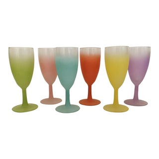 1950s Blendo Stemware - Set of 6 For Sale