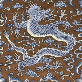 Chinoiserie Scalamandre Chi'en Dragon Fabric Preview