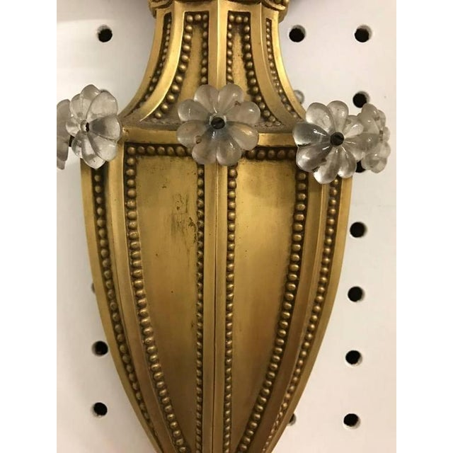 Early 20th Century Caldwell Style Bronze Sconce For Sale - Image 5 of 5