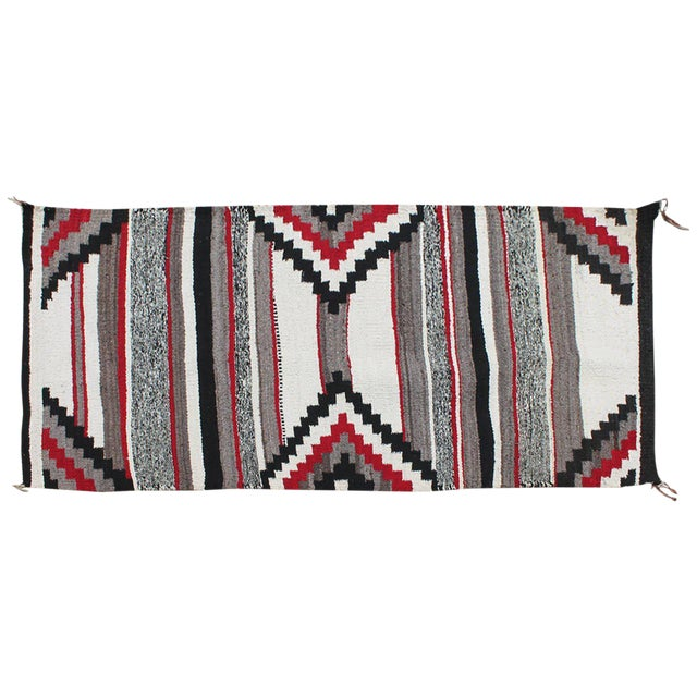 Third Phase Old Style Granado Navajo Weaving For Sale