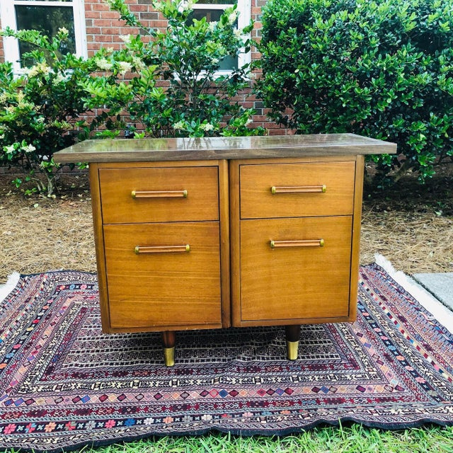 This custom made filing cabinet came from an estate in Augusta. Only one owner and was a lawyer. It features gorgeous wood...