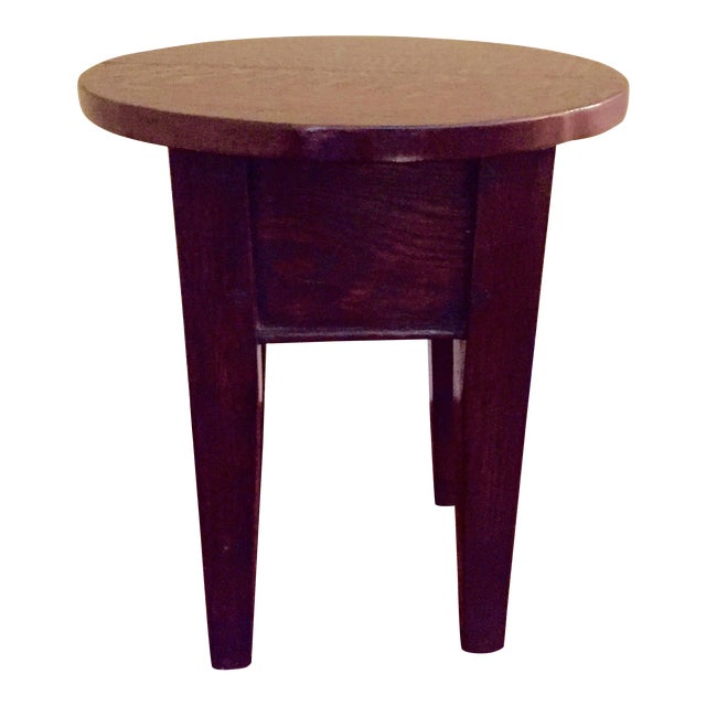 19th Century Round Topped Side Table - Image 1 of 8