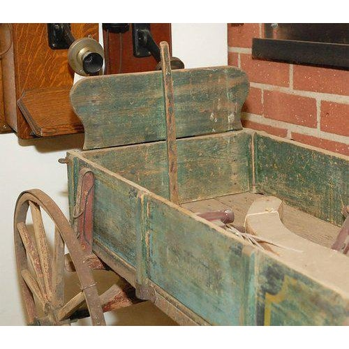 Yellow Childs Wagon from New England For Sale - Image 8 of 9
