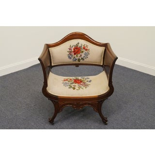 Early 20th Century Antique Ornate Ball & Claw Deep Arm Chair Preview