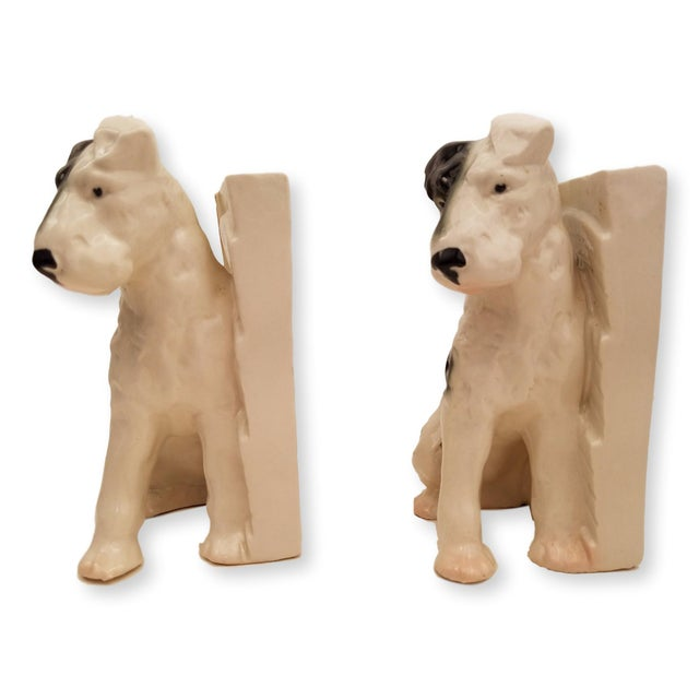 Terrier Dog Bookends - A Pair - Image 2 of 2
