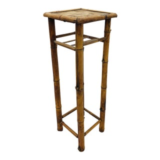Antique Bamboo Plant Stand