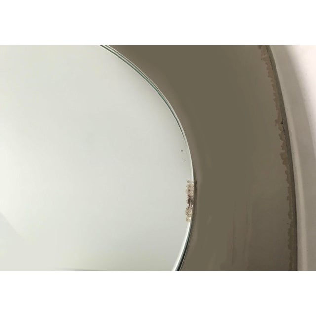 Contemporary Vintage 1960s Italian Veca Mirror For Sale - Image 3 of 4