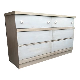 1960s Mid Century Modern Harmony House 6 Drawer Lowboy Dresser For Sale