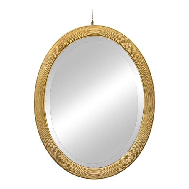 French 19th Century Oval Mirror with Gilt Frame - Image 1 of 11