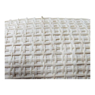 Schumacher Karami Weave Roll of Wallpaper - 1 Roll For Sale