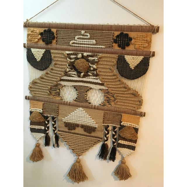 Don Freedman Macrame Wall Hanging For Sale - Image 7 of 11