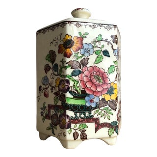 Mason's Ironstone Nabob Tea Caddy For Sale