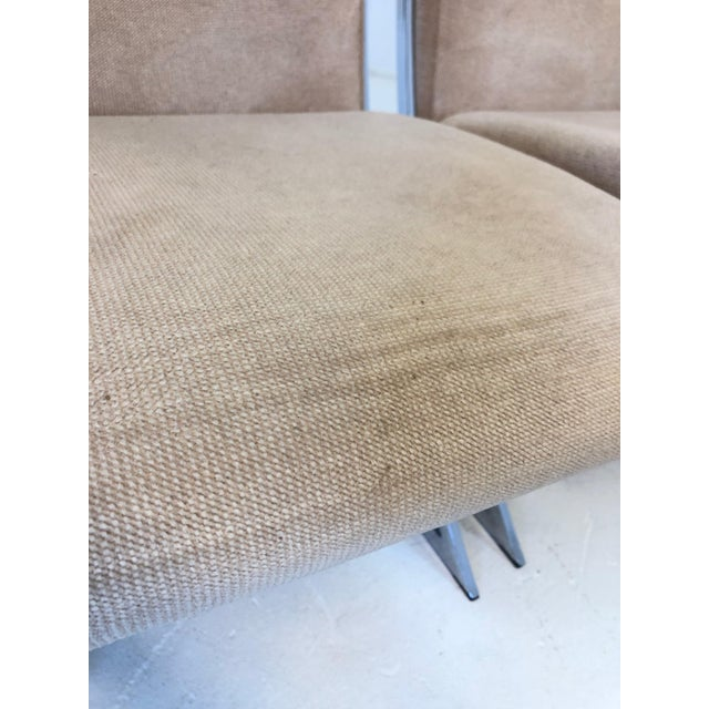 Set of 6 Vintage Pierre Cardin Z Chairs For Sale - Image 9 of 10