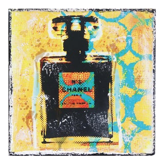 """Burst of Chanel"" Original Artwork by Marion Duschletta For Sale"