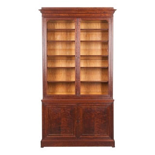 French 19th Century Mahogany Louis Philippe Bibliothèque For Sale