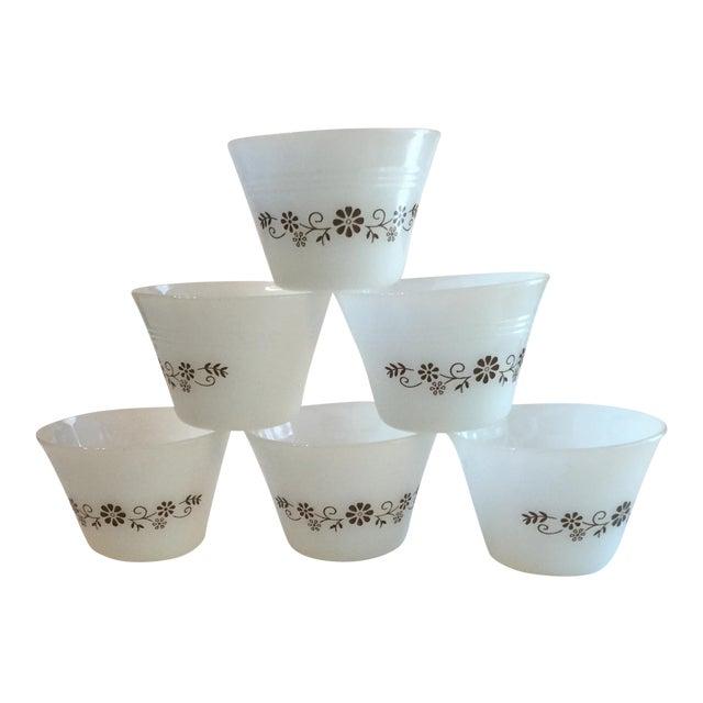 Milk Glass Custard Cups - Set of 6 - Image 1 of 10