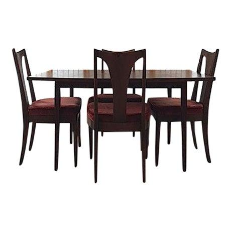 Mid-Century Modern Dining Set - Image 1 of 8