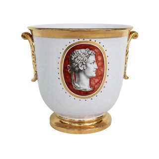 Ugo Zaccagnini Italian Cache Pot For Sale