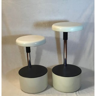 """""""Golf"""" Bar Stools by Roberto Lucci and Paola Orlandini for Velca Legnano-A Pair Preview"""
